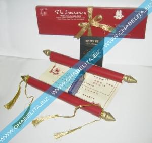 contoh cetak undangan unik model kerajaan