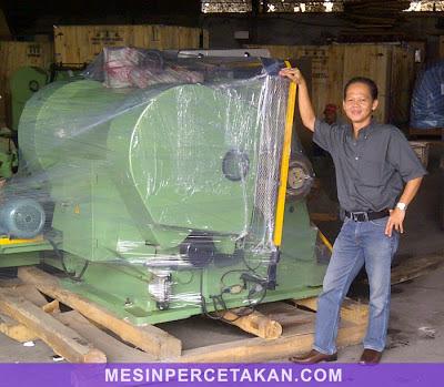 Gudang Mesin Percetakan | Mesin Pond Kertas