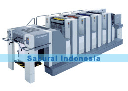 Sakurai Oliver 466 SD-SDP | 4 Color printing machine