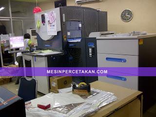 bisnis percetakan digital printing - HP Indigo 3350