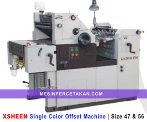 Mesin cetak offset China | XSHEEN